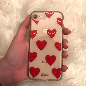 new product 584cb 79f97 Sonix fancy heart iPhone case